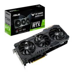 Placa de vídeo Nvidia Asus TUF Gaming GeForce RTX 3060 OC Edition 12GB