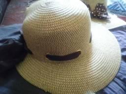 Chapéu Feminino Mulher Laço Fita para Praia Piscina Sol Verão Madame Estiloso