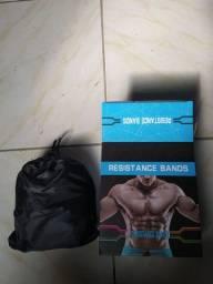 Kit de elásticos para exercício físico