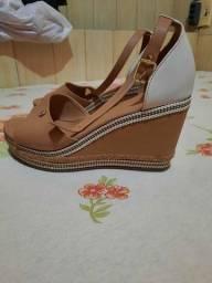 Sapato plataforma n 37