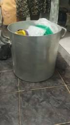 panela caldeirão 35 litros com tampa