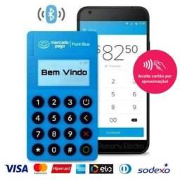 Título do anúncio: Maquininha de Cartão Point Mini ME30S Crédito/débito maquina com 3 Anos Garantia