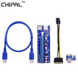 PCIe Riser v009s Placa de Vídeo Externa e Mineração de Bitcoin