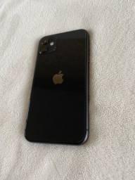 IPhone 11, 64GB. Cor: Preto. Impecável. Na Garantia !!!