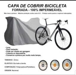 Capa de Cobrir Bicicleta - Forrada - 100% Impermeável- Nova!