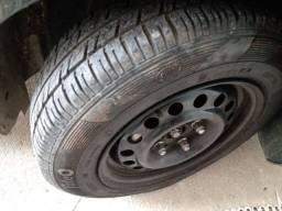 Rodas  14 pneus semi novo