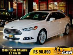 Título do anúncio: Ford Fusion Titanium 2.0 GTDI Eco. Awd Aut. 2016 Flex