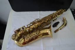 Sax Alto Americano Jean Batiste + Boquilha Yamaha (.(.( Raridade ).).)