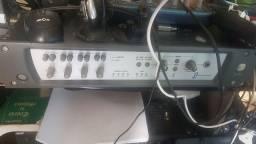 Excelente placa de som interface profissional de Studio DIG 02 rack