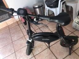 Bicicleta elétrica Mibo preta