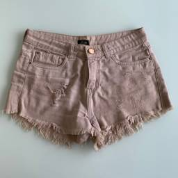 Shorts jeans rose