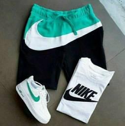 KIT Com 1 Bermuda + 1 camiseta + 1 tênis adulto Original  2021