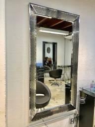 Espelho moldura led