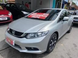 Título do anúncio: Honda Civic 2016 LXR automático Financio