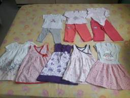 Vestidos e Roupas Menina 2 anos