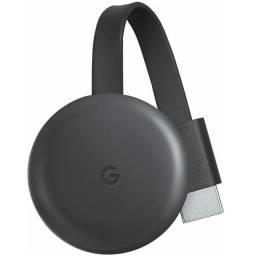 Google Chromecast 3 Geração Full HD Carvão