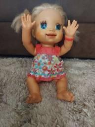 Boneca rara Baby alive.