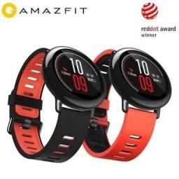 Xiaomi Amazfit Pace Smartwatch Preto Grátis 2 Películas de Vidro
