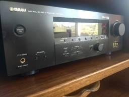 Receiver Yamaha HTR-5850 novinho, impecável