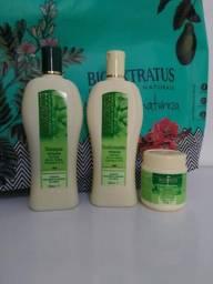 Kit Bioextratus Shampoo, Condicionador e banho de creme linha Antiqueda Jaborandi comprar usado  Uberlândia