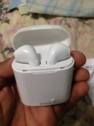 Fones de ouvido via Bluetooth novos