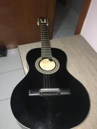 Viola Acústica Caipira Giannini Vs-14 Antiga Gvsx15 Preta