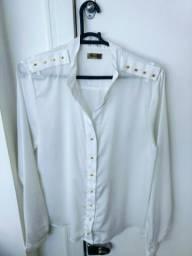 Camisa branca marca Naguchi nova
