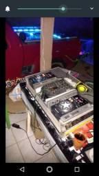 Cdj 200 Pioneer + mixer vmx 200 + case