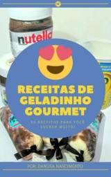 E-book 50 Receitas De Geladinho Gourmet