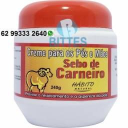Creme Sebo de Carneiro 240 g Bittes Cosméticos