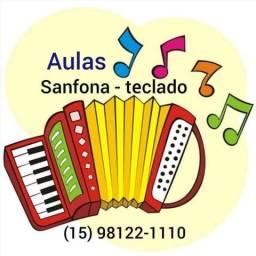 Aulas Sanfona/Acordeon/Teclado