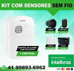 Kit Alarme Intelbras com Aplicativo