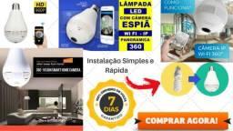 Lâmpada Câmera Espiã / lâmpada espiã