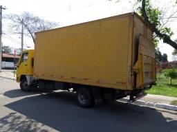 Baú de Aluminio com Plataforma para caminhão 3/4