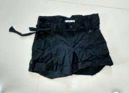 Shorts preto 38/40