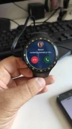 Relógio Smartwatch TicWatch S Preto GPS Wifi Android Wear 2.0 4gb instala aplicativos