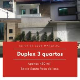 Duplex no bairro Sta Rosa Lima(Vale Verde)