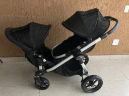 Carrinho de Gêmeos Baby jogger City select (12x cartão)