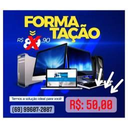 Formatação+Manutenção R$:50,00