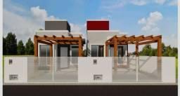 Casa nova com lage 2 quartos projeto moderno bom preço