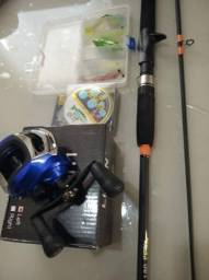Kit de vara com carretilha ( produto novo) comprar usado  Sorocaba