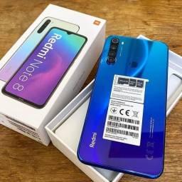Oferta Note 8 Xiaomi 128GB, Lacrado, Todas Cores, 12x 115,00