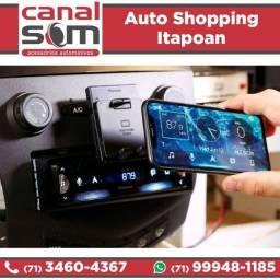 Pioneer Smartphone Receiver Sph-c10bt Lançamento, Canal Som (instalado)