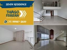 Seven Residence, 1 suíte duplex, vista mar, nascente, armários em 65m² na Pituba