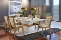 Mesa de Jantar com 6 cadeiras Ágata Ágata zas527