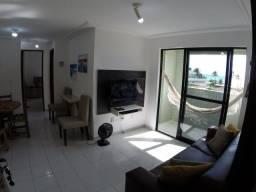 Alugo lindo apto 2 quartos, vista p/o mar, 1 quadra da orla de Cabo Branco-João Pessoa.