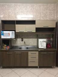 Armário de cozinha + pia inox