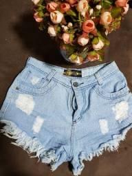 Short jeans tamanho