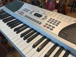 Teclado musical eletronico piano troco vendo negocio