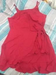 Vestido cor vinho